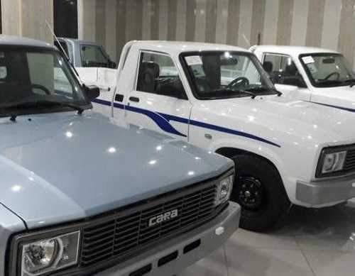 قیمت وانت کارا تک کابین و دوکابین افزایش یافت - شهریور 1400