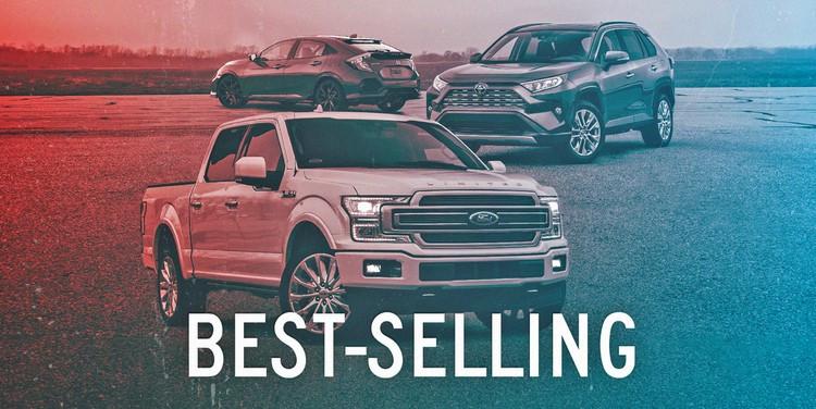 لیست پرفروش ترین خودروهای بازار آمریکا