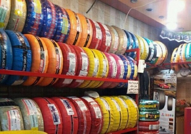 جدول قیمت جدید انواع لاستیک ایرانی در بازار تهران